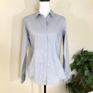 Women's Eddie Bauer Dress Shirt Long Sleeve M